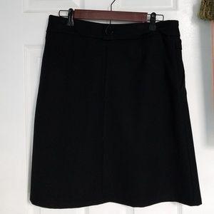 Good quality Italian made black skirt